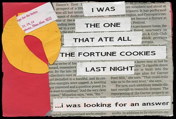 post secret fortune cookied